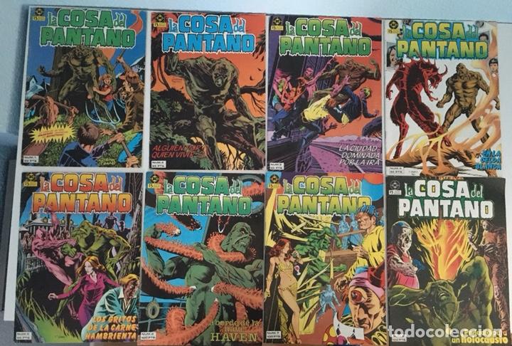 LOTE CÓMICS LA COSA DEL PANTANO (Tebeos y Comics - Zinco - Cosa del Pantano)