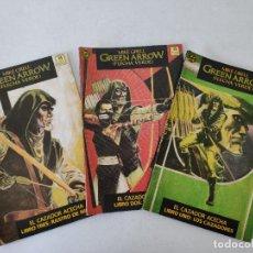 Cómics: GREEN ARROW - EL CAZADOR ACECHA - (COMPLETA) - LIBROS 1, 2 Y 3 - ED. ZINCO. Lote 254287300
