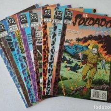 Cómics: 8 EJEMPLARES DE 12 - EL SOLDADO DESCONOCIDO - EDICIONES ZINCO. Lote 254292895