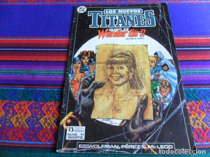 Cómics: ZINCO. RETAPADO LOS NUEVOS TITANES NºS 43 AL 47. 1985. 385 PTS. REGALO Nº 11. MUY BUEN ESTADO. - Foto 2 - 13124488