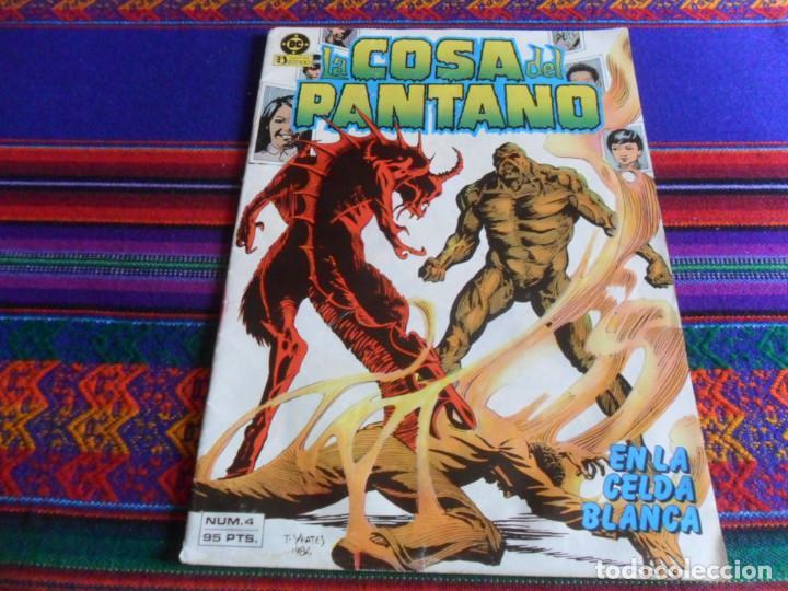 Cómics: ZINCO RETAPADO Nº 6 COSA DEL PANTANO NºS 9 AL 12. 350 PTS. 1988. REGALO Nº 4. 95 PTS. 1985. - Foto 2 - 39400537