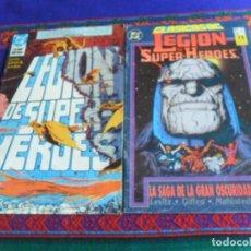 Cómics: ZINCO LEGIÓN DE SUPER-HÉROES 29 LAS GUERRAS MÁGICAS CAPÍTULO DOS, CLASICOS DC 22 LA SAGA OSCURIDAD.. Lote 254402400