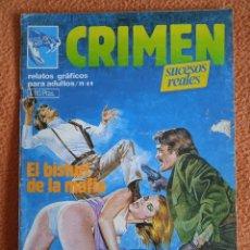 Cómics: CRIMEN 49 ZINCO. Lote 254936105