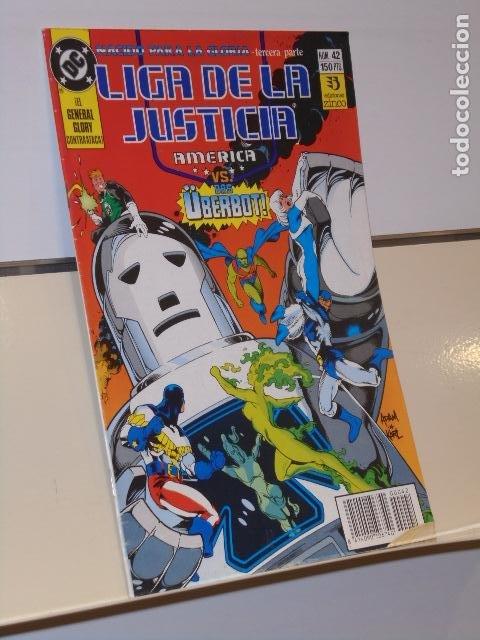 LIGA DE LA JUSTICIA DE AMERICA Nº 42 DC - ZINCO (Tebeos y Comics - Zinco - Liga de la Justicia)