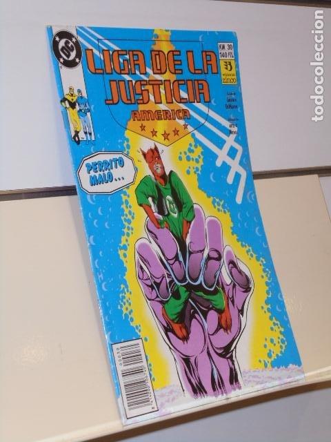 LIGA DE LA JUSTICIA DE AMERICA Nº 30 DC - ZINCO (Tebeos y Comics - Zinco - Liga de la Justicia)