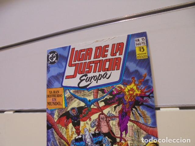 Cómics: LIGA DE LA JUSTICIA DE EUROPA Nº 15 DC - ZINCO - Foto 3 - 254980635