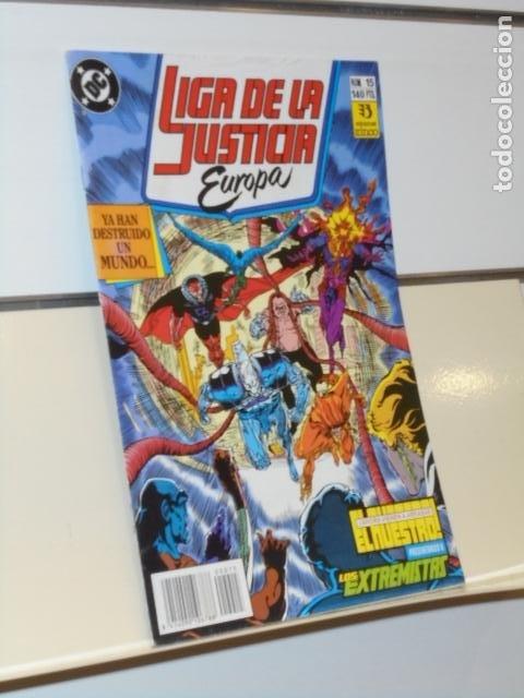 LIGA DE LA JUSTICIA DE EUROPA Nº 15 DC - ZINCO (Tebeos y Comics - Zinco - Liga de la Justicia)