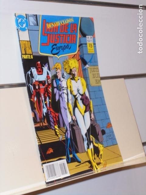 LIGA DE LA JUSTICIA DE EUROPA Nº 31 RUPTURAS PARTE 6 DC - ZINCO (Tebeos y Comics - Zinco - Liga de la Justicia)