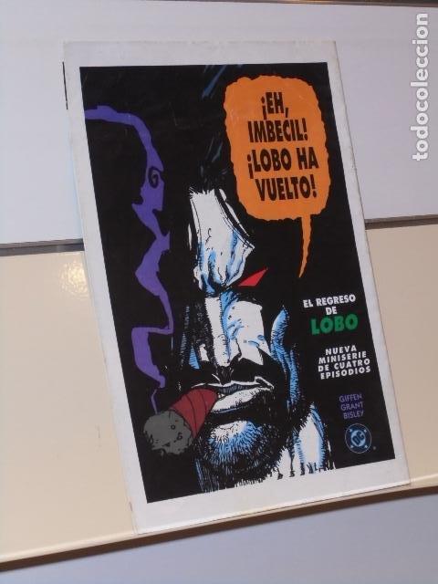 Cómics: LIGA DE LA JUSTICIA DE EUROPA Nº 35 RUPTURAS PARTE 14 DC - ZINCO - Foto 2 - 254981690