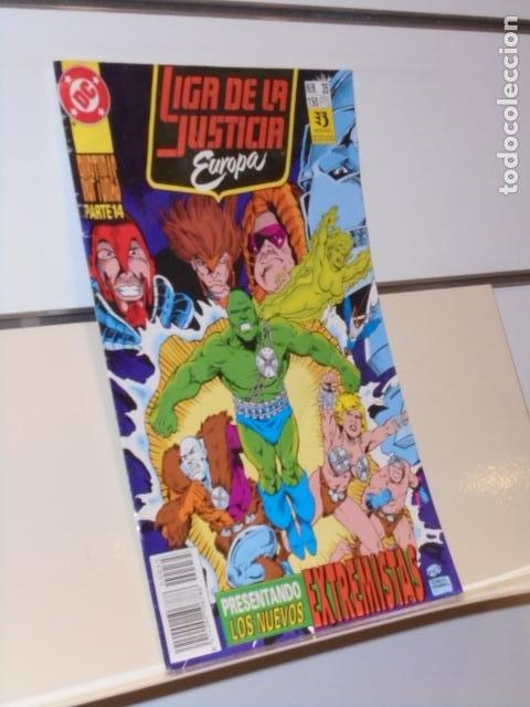LIGA DE LA JUSTICIA DE EUROPA Nº 35 RUPTURAS PARTE 14 DC - ZINCO (Tebeos y Comics - Zinco - Liga de la Justicia)
