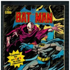 Cómics: BATMAN. RETAPADO 1 CON LOS NÚMEROS 1,2,3,3,4 Y 5. EDICIONES ZINCO.. Lote 255424525