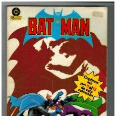 Cómics: BATMAN. RETAPADO 3 CON LOS NÚMEROS 11,12,13,14 Y 15. EDICIONES ZINCO.. Lote 255425710