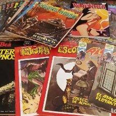 Cómics: SUPER LOTE ESPECIAL TERROR - DOSSIER NEGRO (11 NÚMEROS), VAMPIRELLA, ESCORPIÓN, PETER HIPNOS.... Lote 238115820