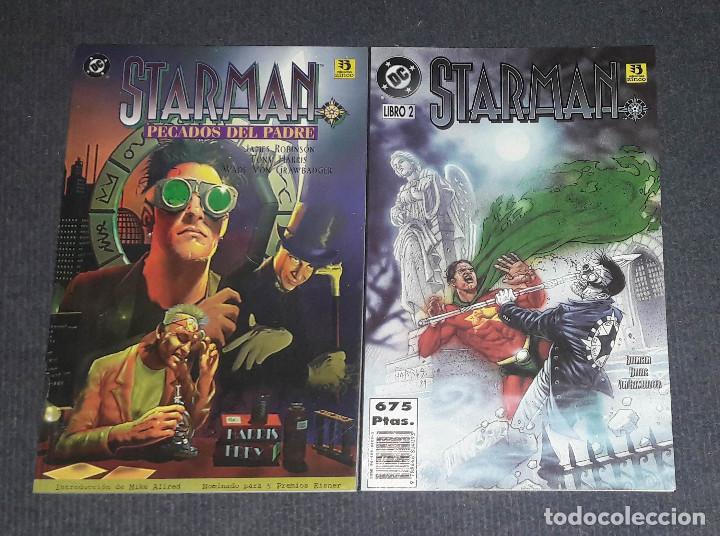 STARMAN PECADOS DE PADRE COMPLETA 2 COMICS EDICIONES ZINCO (Tebeos y Comics - Zinco - Otros)