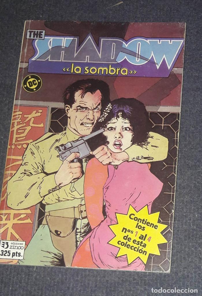THE SHADOW LA SOMBRA ¡ RETAPADO OBRA COMPLETA 4 NUMEROS ! DC - ZINCO (Tebeos y Comics - Zinco - Retapados)
