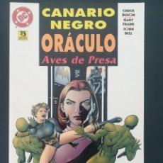 Cómics: CANARIO NEGRO ORACULO AVES DE PRESA. Lote 255566665