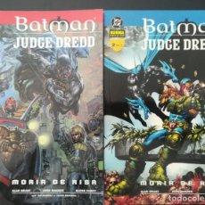 Cómics: BATMAN JUDGE DREDD COMPLETA TMO 1 Y 2. Lote 255566920