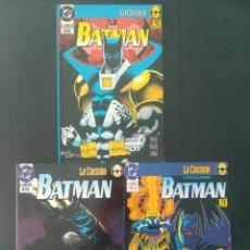 Cómics: LA CRUZADA BATMAN COMPLETA TOMO 1, 2 Y 3. Lote 255568150