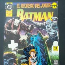Cómics: BATMAN EL REGRESO DEL JOKER. Lote 255568315