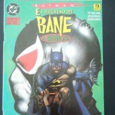 Cómics: BATMAN EL REGRESO DE BANE. Lote 255569015
