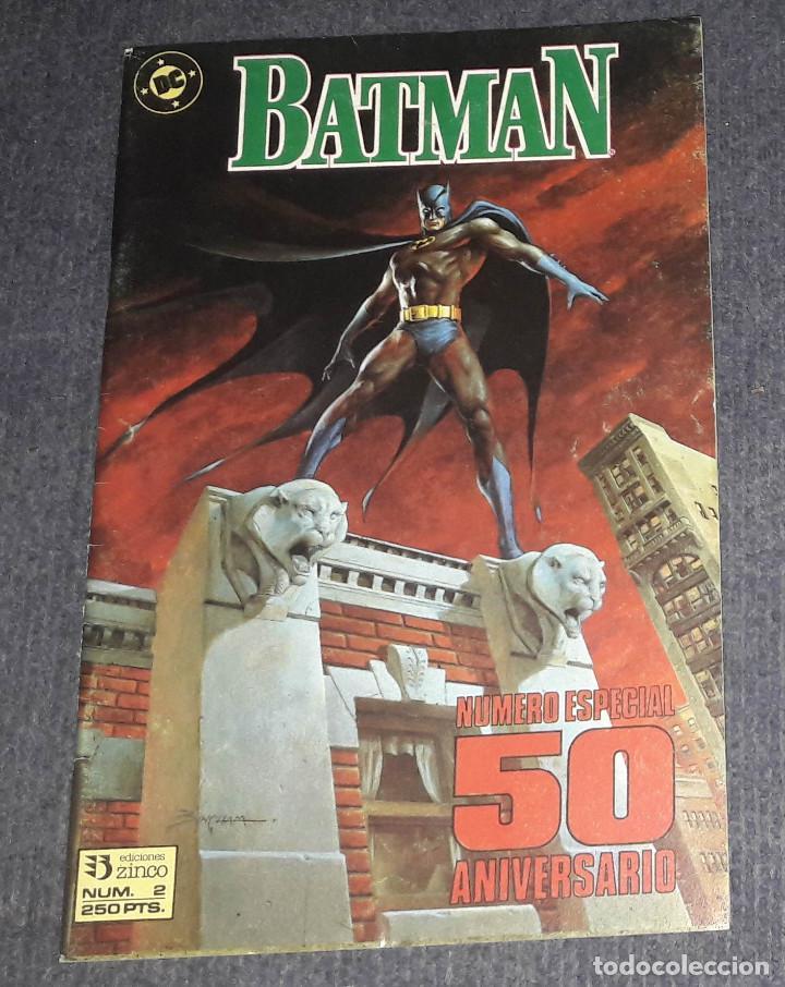 BATMAN Nº 2 EDICIONES ZINCO NUMERO ESPECIAL 50 ANIVERSARIO (Tebeos y Comics - Zinco - Batman)