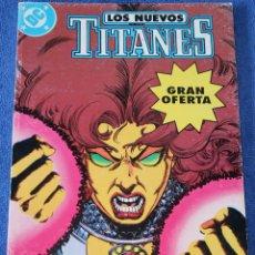 Cómics: LOS NUEVOS TITANES - RETAPADO Nº 7 AL 10 - EDICIONES ZINCO (1989). Lote 256073510