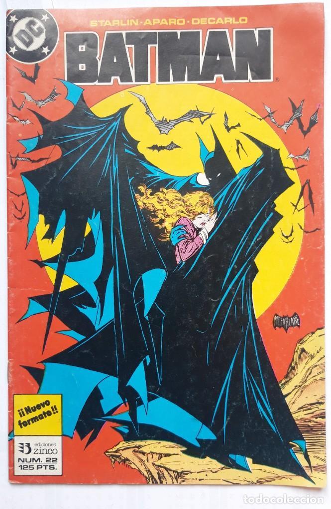 BATMAN. EDICIONES ZINCO. Nº22 (Tebeos y Comics - Zinco - Batman)