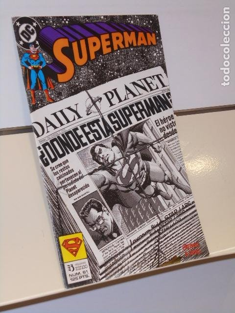 SUPERMAN Nº 61 - ZINCO (Tebeos y Comics - Zinco - Superman)