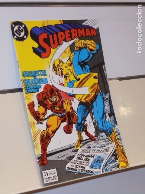 SUPERMAN Nº 58 - ZINCO (Tebeos y Comics - Zinco - Superman)