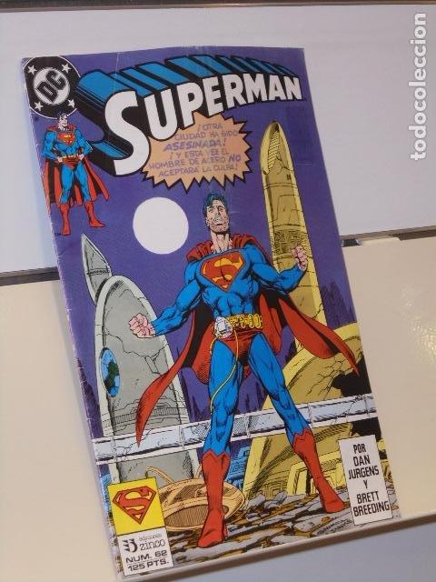 SUPERMAN Nº 62 DC - ZINCO (Tebeos y Comics - Zinco - Superman)