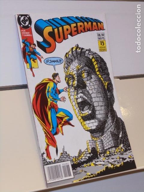 SUPERMAN Nº 86 DC - ZINCO (Tebeos y Comics - Zinco - Superman)