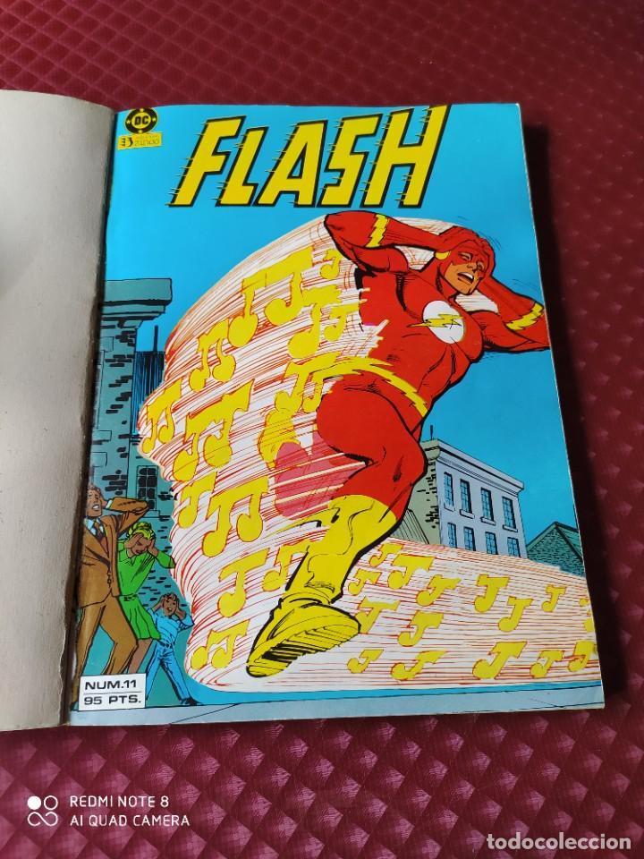 Cómics: FLASH RETAPADO Nº 3 CONTIENE Nº 11,12,13 Y 14 DC EDICIONES ZINCO BUEN ESTADO - Foto 2 - 257351155