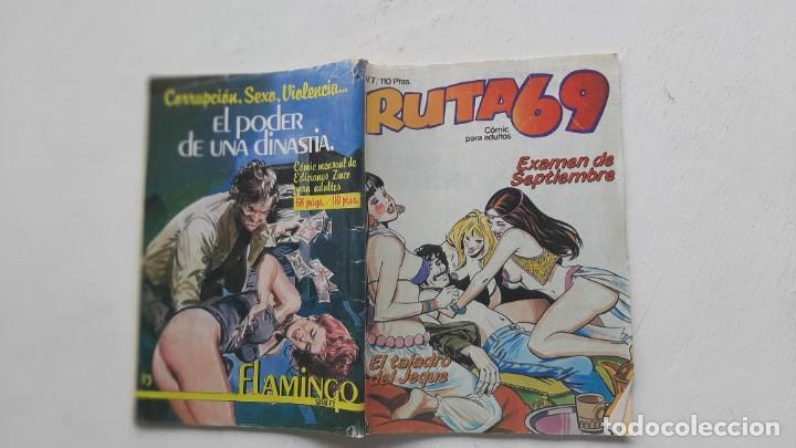 RUTA 69, Nº 7, EDICIONES ZINCO (Tebeos y Comics - Zinco - Otros)