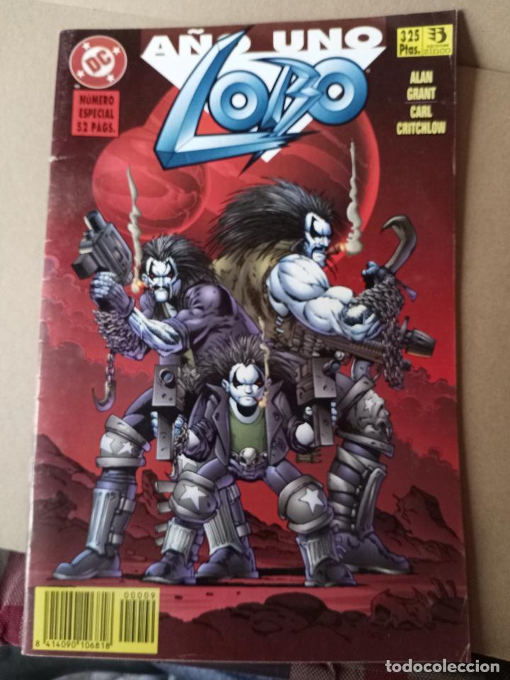 LOBO -AÑO UNO - N 3 -EDITORIAL ZINCO (Tebeos y Comics - Zinco - Lobo)