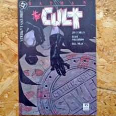 Cómics: BATMAN. THE CULT 1. EDICIONES ZINCO. LIBRO UNO: LA PRUEBA. JIM STARLIN. BERNIE WRIGHTSON.. Lote 257685250