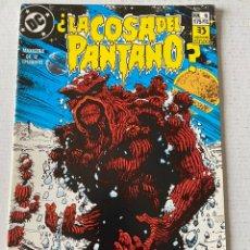 Cómics: LA COSA DEL PANTANO 1987 6/12 EN MUY BUEN ESTADO ZINCO. Lote 258082870