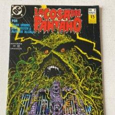 Comics: LA COSA DEL PANTANO 1987 2/12 EN MUY BUEN ESTADO ZINCO. Lote 258083175