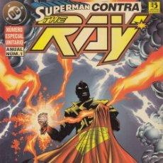 Cómics: SUPERMAN CONTRA THE RAY - NUMERO ESPECIAL UNITARIO - ANUAL Nº 1 - ZINCO DC #. Lote 258878970