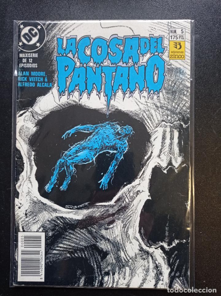 LA COSA DEL PANTANO MAXISERIE DE 12 EPISODIOS # 5 (Tebeos y Comics - Zinco - Cosa del Pantano)