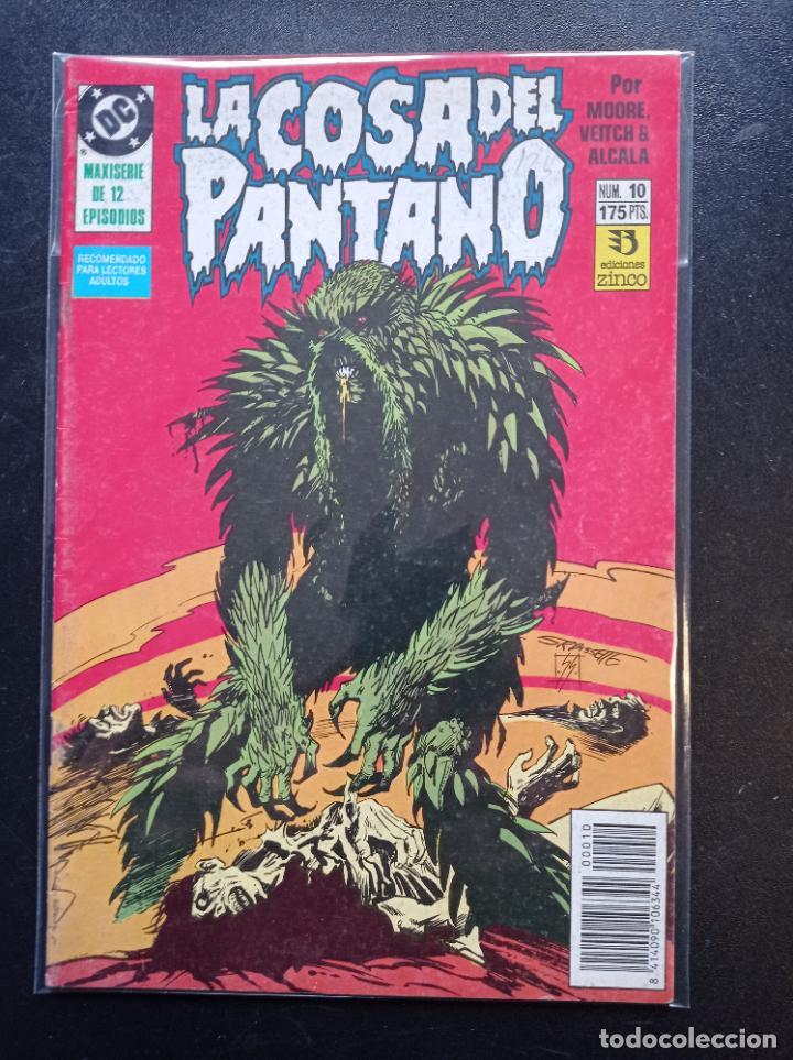 LA COSA DEL PANTANO MAXISERIE DE 12 EPISODIOS # 10 (Tebeos y Comics - Zinco - Cosa del Pantano)