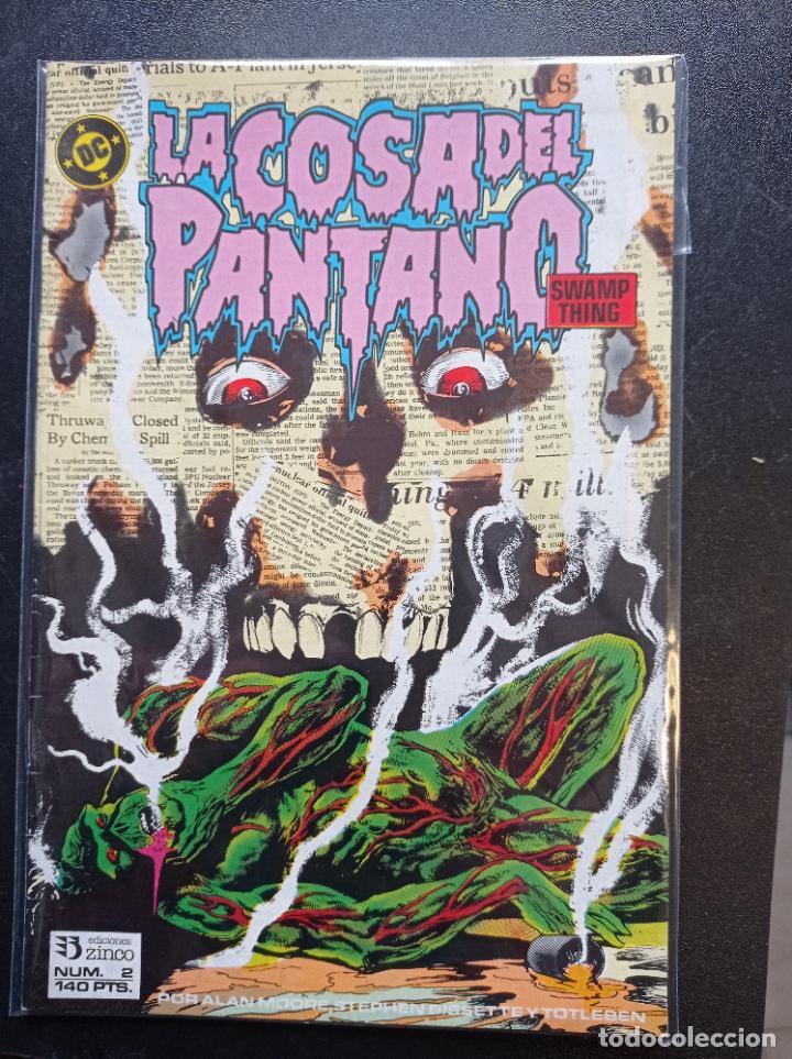 LA COSA DEL PANTANO # 2 (Tebeos y Comics - Zinco - Cosa del Pantano)