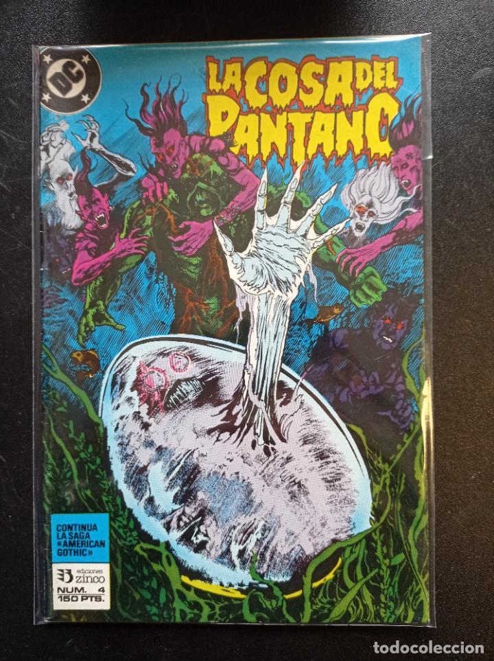 LA COSA DEL PANTANO # 4 (Tebeos y Comics - Zinco - Cosa del Pantano)