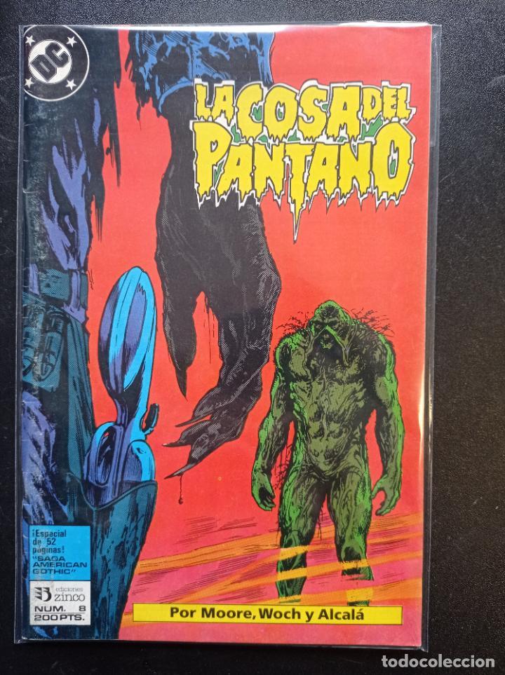 LA COSA DEL PANTANO # 8 (Tebeos y Comics - Zinco - Cosa del Pantano)