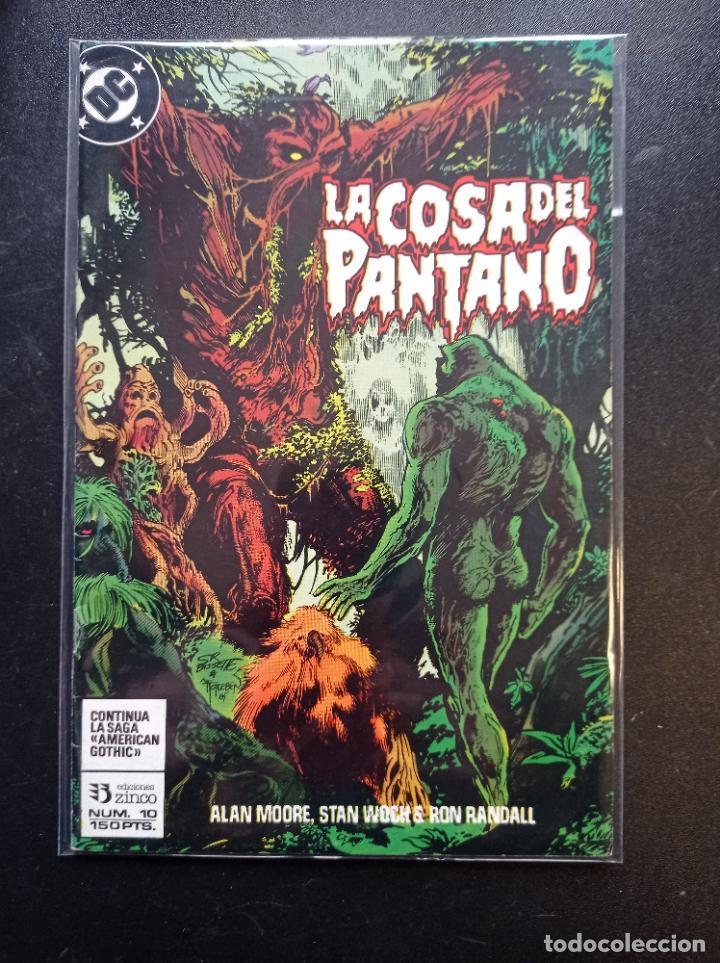 LA COSA DEL PANTANO #10 (Tebeos y Comics - Zinco - Cosa del Pantano)