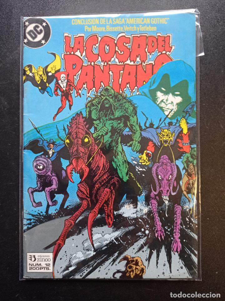 LA COSA DEL PANTANO #12 (Tebeos y Comics - Zinco - Cosa del Pantano)