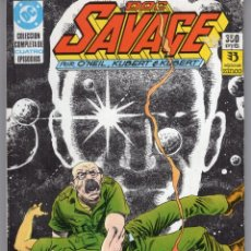Cómics: DOC SAVAGE COMPLETA RETAPADO CON LOS NUMEROS 1 A 4 - ZINCO. Lote 259299230