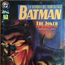 Cómics: COMIC BATMAN Nº1 LA SOMBRA DEL MURCIÉLAGO. Lote 259709230