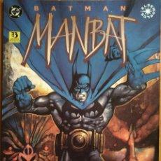 Cómics: COMIC BATMAN MANBAT AÑO 1996 DC EDICIONES ZINCO. Lote 259709820