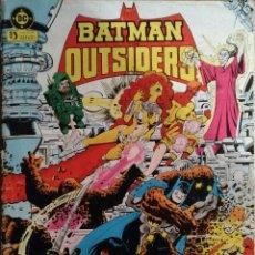 Cómics: COMIC BATMAN Nº4 OUTSIDERS. Lote 259710660