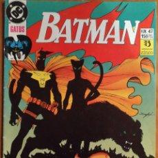 Cómics: COMIC BATMAN Nº47 GATOS. Lote 259710865